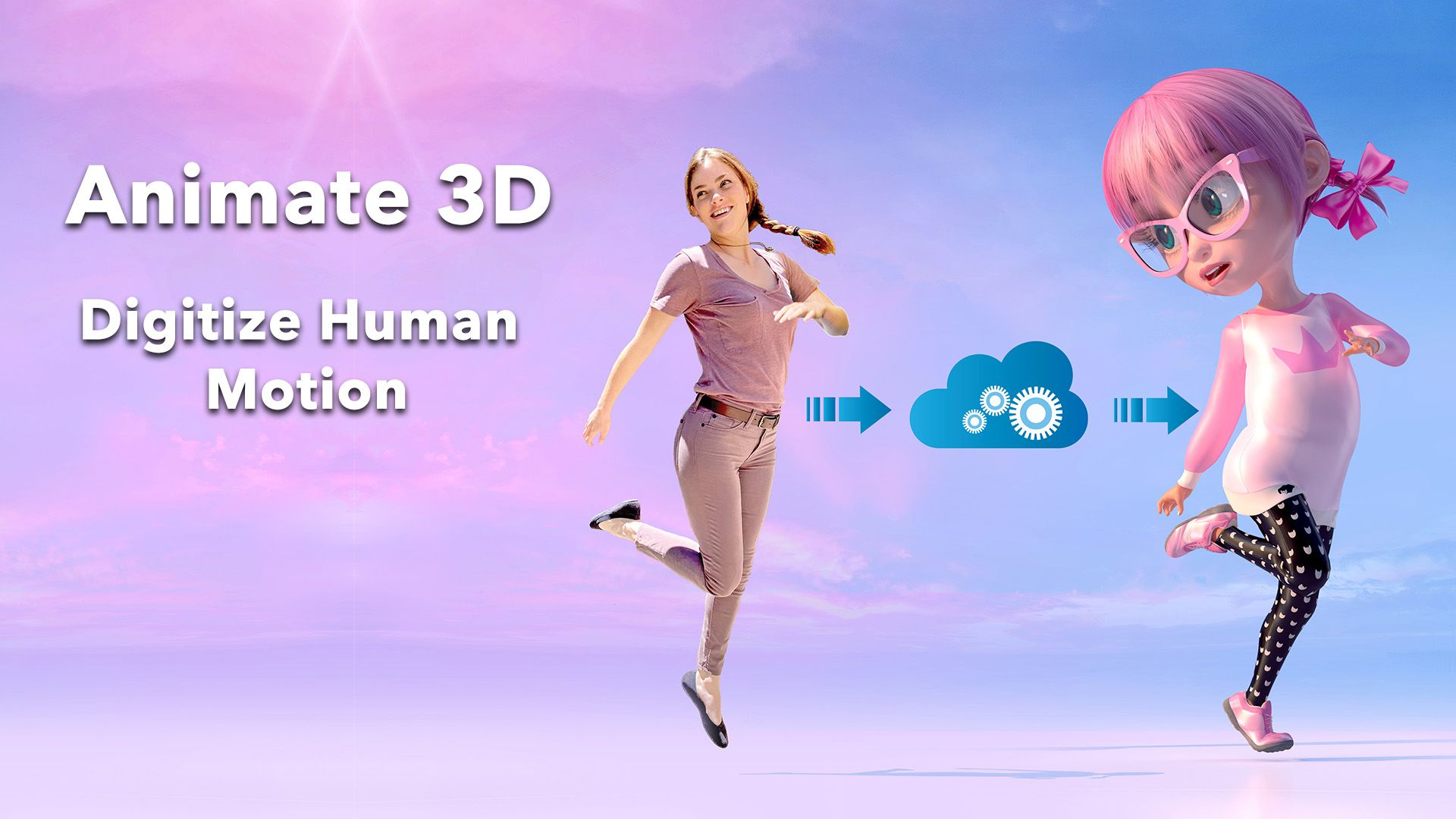 Animate 3D: Digitize Human Motion - Sign Up for the Alpha!