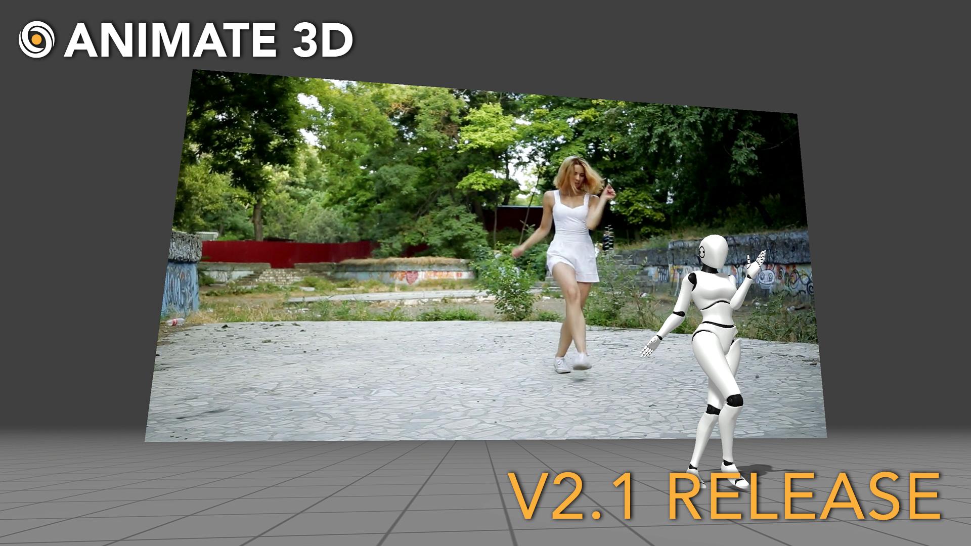 Animate 3D - V 2.1 Release