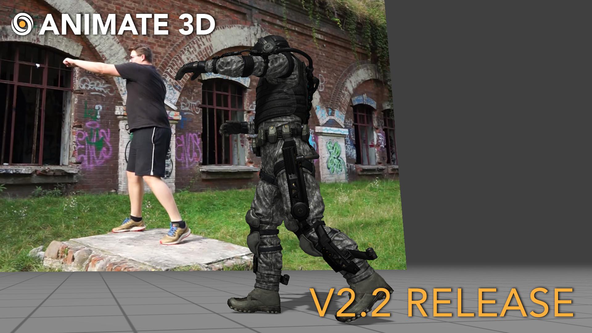 Animate 3D - V 2.2 Release