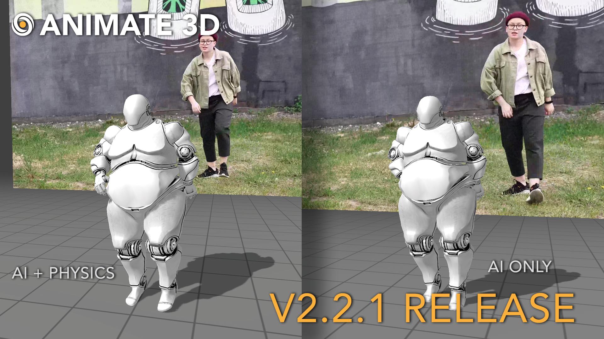 Animate 3D - V2.2.1 Release