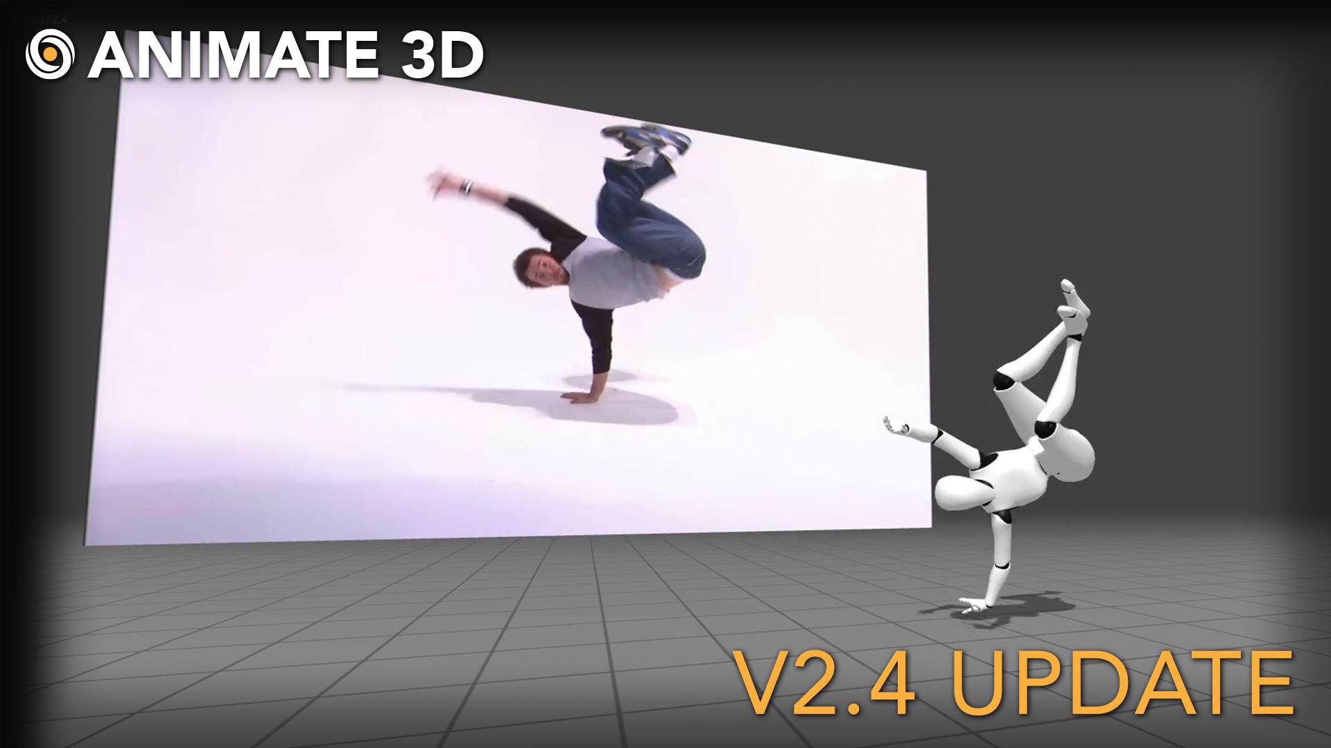 Animate 3D - V2.4 Release