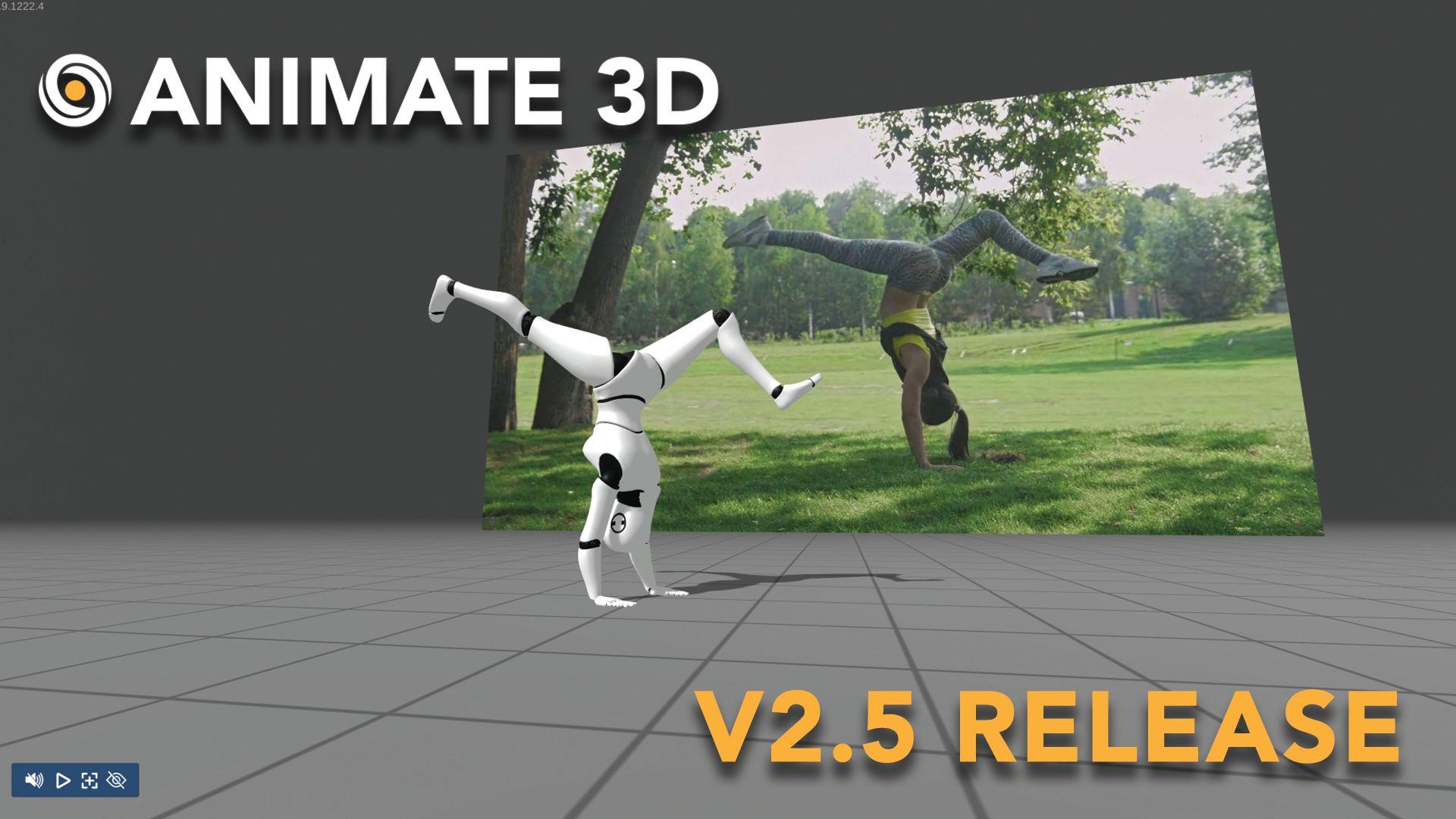 Animate 3D - V2.5 Release