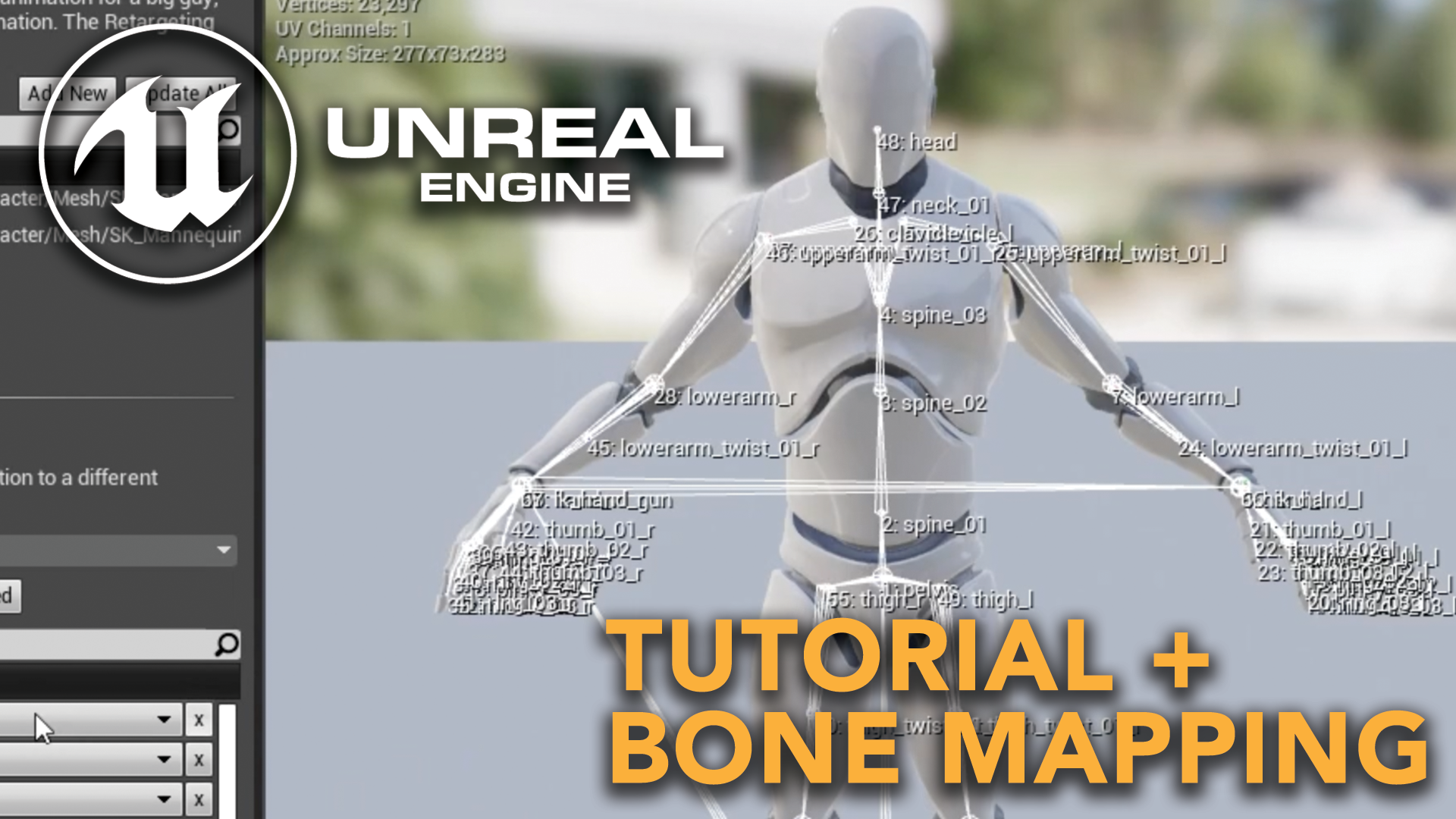 Unreal Engine Tutorial + Bone Mapping